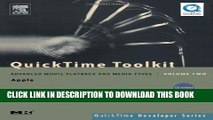 [PDF] QuickTime Toolkit Volume Two: Advanced Movie Playback and Media Types (QuickTime Developer