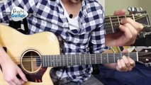 Improve chord changes on guitar E & A chords (L1 03) Guitar Lessons for Beginners-3g06dUrnsn4