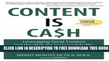 [PDF] Content is Cash: Leveraging Great Content and the Web for Increased Traffic, Sales, Leads