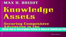 Securing Competitive Advantage in the Information Economy Knowledge Assets