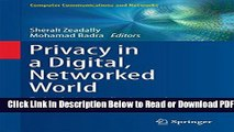 [Get] Privacy in a Digital, Networked World: Technologies, Implications and Solutions Free Online