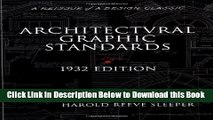 [PDF] Architectural Graphic Standards for Architects, Engineers, Decorators, Builders and