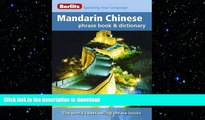 FAVORIT BOOK Berlitz Mandarin Chinese Phrase Book   Dictionary READ EBOOK