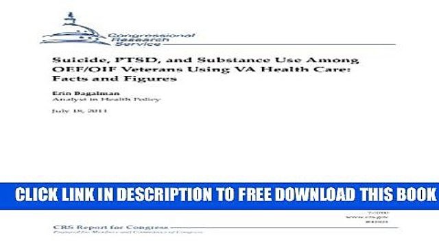 [PDF] Suicide, PTSD, and Substance Use Among OEF/OIF Veterans Using VA Health Care: Facts and