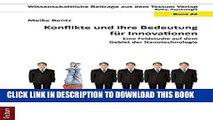 [PDF] Konflikte und ihre Bedeutung für Innovationen: Eine Feldstudie auf dem Gebiet der