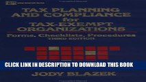 [PDF] Tax Planning and Compliance for Tax-Exempt Organizations: Forms, Checklists, Procedures