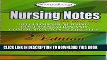 [PDF] Nursing Notes the Easy Way:100+ Common Nursing Documentation and Communication Templates