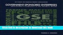 Read Government-Sponsored Enterprises: Mercantilist Companies in the Modern World (AEI Studies on