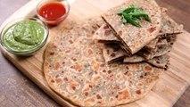 Keema Paratha Recipe   Indian Flatbread Stuffed With Minced Meat   The Bombay Chef - Varun Inamdar