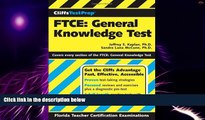 Big Deals  CliffsTestPrep FTCE: General Knowledge Test  Free Full Read Most Wanted