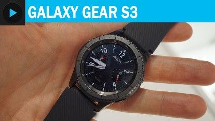 Prise en main de la Galaxy Gear S3