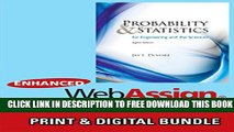 [PDF] Bundle: Probability and Statistics for Engineering and the Sciences, 8th + Enhanced