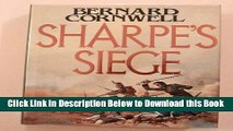 [Best] Sharpe s Siege (Richard Sharpe s Adventure Series #18) Online Books