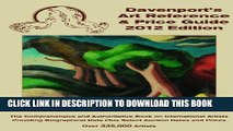 [PDF] 2012 Davenport s Art Reference   Price Guide (Davenport s Art Reference and Price Guide)
