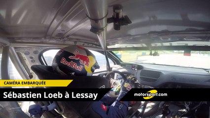 Caméra Embarquée Sébastien Loeb sur le circuit de Lessay