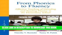 [PDF] From Phonics to Fluency: Effective Teaching of Decoding and Reading Fluency in the