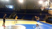 shooting basket landes