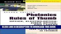 [PDF] Photonics Rules of Thumb: Optics, Electro-Optics, Fiber Optics and Lasers Popular Online