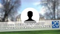 Présidentielle 2017: Quels ministres du quinquennat face à Hollande?