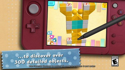 Picross 3D Round 2 : launch trailer