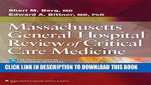 [PDF] Massachusetts General Hospital Review of Critical Care Medicine Full Online