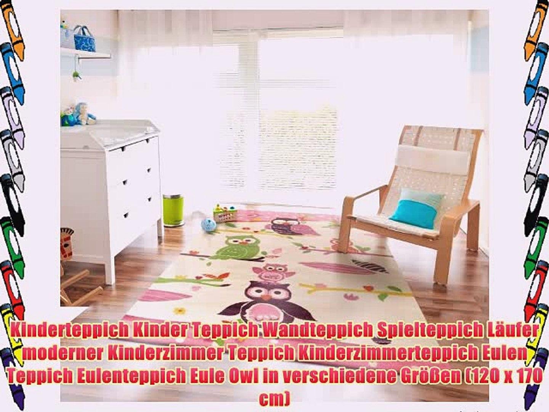 Kinderteppich Kinder Teppich Wandteppich Spielteppich Läufer moderner  Kinderzimmer Teppich