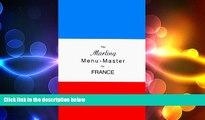 FREE DOWNLOAD  The Marling Menu-Master for France (Marling menu masters series)  BOOK ONLINE