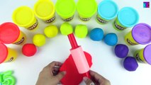 Colorful Play Doh Numbers - Learn Counting Real Numbers - Count 41-50 by Kids Toys and Crafts