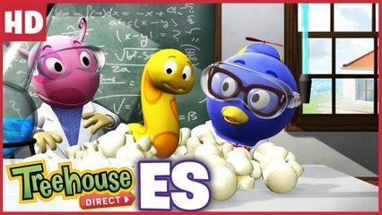 Experimento loco Ciencia en la Escuela con Los Backyardigans !