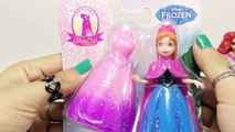 Disney Frozen español!! Play doh frozen anna of arendelle elsa and anna dolls - Disney Princess Toys
