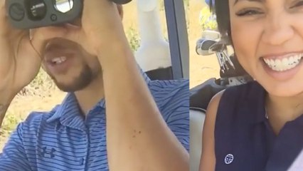 "Steph Curry Tells Ayesha Curry He's Trying To ""Find The Booty"""