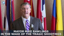 Dallas Mayor Mike Rawlings speaks on Chief David Brown's retirement - YouTube