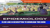 Collection Book Epidemiology: with STUDENT CONSULT Online Access, 5e (Gordis, Epidemiology)