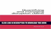 [PDF] Quantifying and Managing Disruption Claims Popular Colection