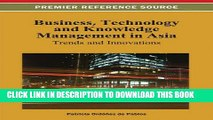 [PDF] Business, Technology, and Knowledge Management in Asia: Trends and Innovations Full Online