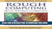 [PDF] Rough Computing: Theories, Technologies and Applications Popular Online