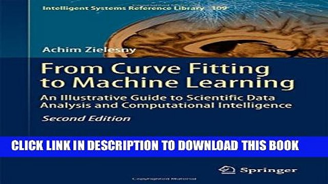 [PDF] From Curve Fitting to Machine Learning: An Illustrative Guide to Scientific Data Analysis