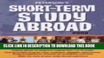 Collection Book Short-Term Study Abroad 2008 (Peterson s Short-Term Study Abroad Programs)