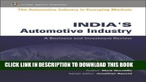 [PDF] India s Automotive Industry (Automotive Industry in Emerging Markets S.) Full Colection