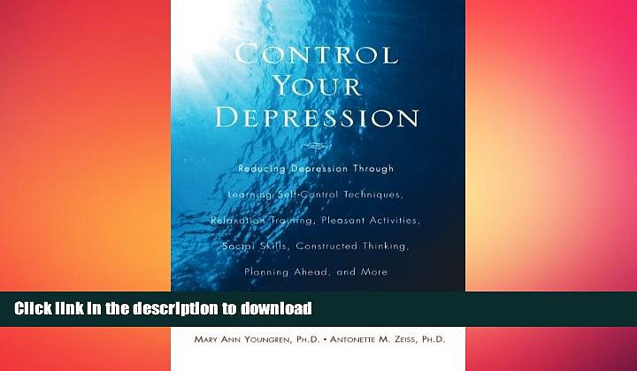 READ  Control Your Depression, Rev d Ed FULL ONLINE
