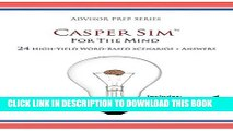Collection Book Casper Sim for the Mind: 24 High-Yield Word-Based Scenarios + Answers (Advisor Prep)