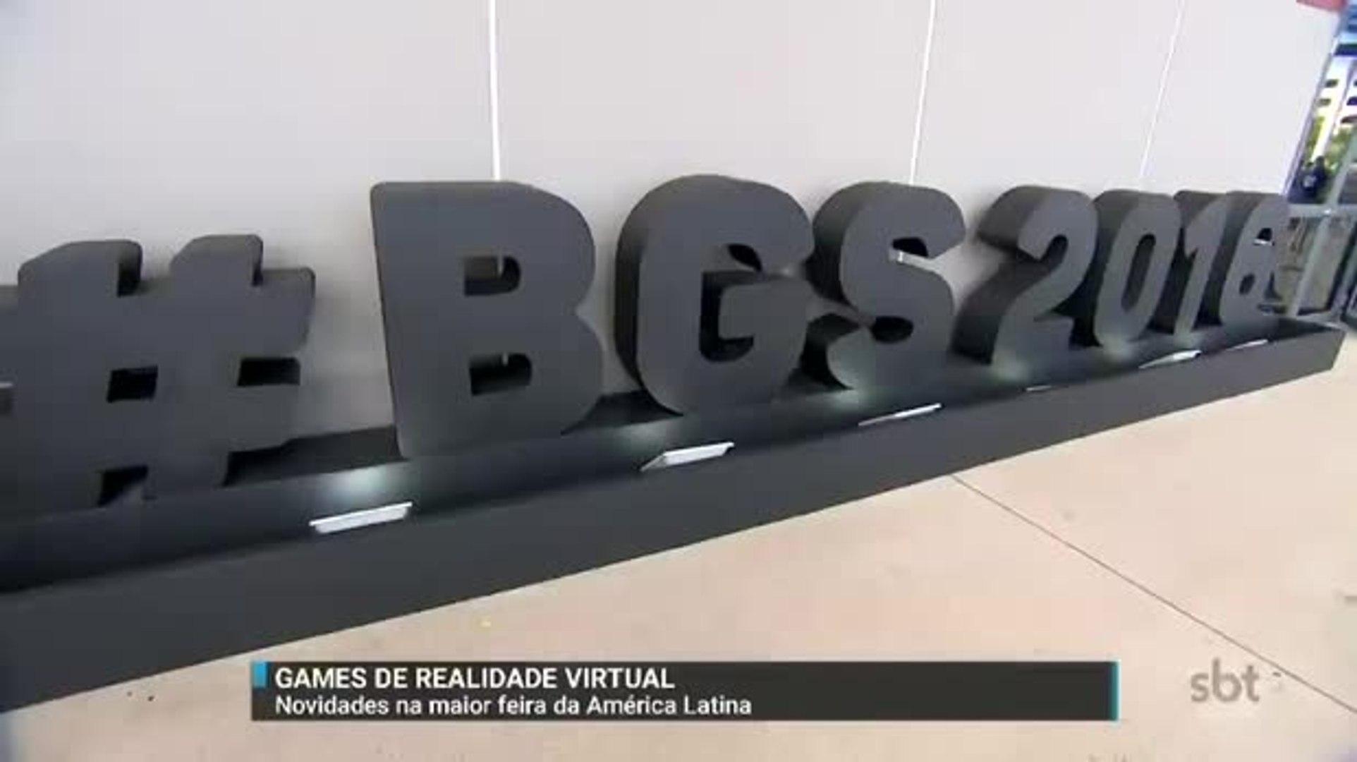 SBT Brasil confere as novidades da maior feira de games da América Latina