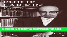[PDF] Philip Larkin Poems: Selected by Martin Amis Full Online