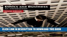 [PDF] Ethics and Business: An Introduction (Cambridge Applied Ethics) Full Colection