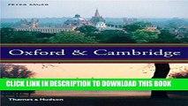 [Read] Oxford   Cambridge : an uncommon history Ebook Free