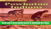 [Reads] Powhatan Indians (Native Americans) Online Books