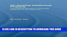 [PDF] Re-thinking Intellectual Property: The Political Economy of Copyright Protection in the