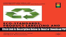 [Get] Eco-Standards, Product Labelling and Green Consumerism (Consumption and Public Life) Free New