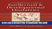 [Read] A Comprehensive Guide to Intellectual and Developmental Disabilities Free Books