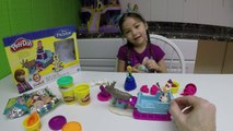 FUN PLAY-DOH FROZEN TOY Sparkle Doc McStuffins Surprise Toys Disney Junior Kinder Egg Kids Activity